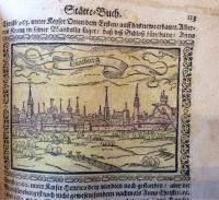 Saur, Abraham: Stätte-Buch, letzte und ausführlichste Ausgabe von 1658