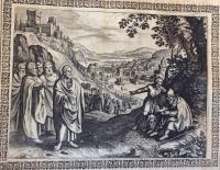VERKAUFT! Merian, Matthäus: Biblia Germania Erstausgabe, Straßburg 1630