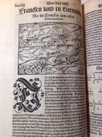 "VERKAUFT: Münster, S.: Cosmographia ca. 1558 ""Cosmographei"""