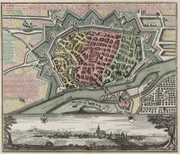 Seutter, M.: Ulma Memorabilis ac Permunita Libera Imperii Civitas ad Danubium...1735