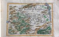 Hurter, J.C:Geographica provinciarum Sveviae descriptio. Schwaben in XXVIII übereintreffenden Tabellen vorgestellt, Bodenehr