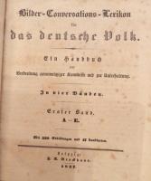 Brockhaus: Bilder-Conversations-Lexicon für das deutsche Volk.1837-1841