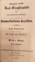 Allgemeine deutsche Real-Enczyklopädie für die gebildeten Stände. Conversations=Lexikon. 9. Auflage