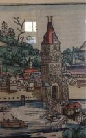 VLMA: Kolorierte Ansicht von Ulm aus Schedels Weltchronik 1493