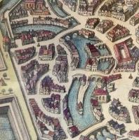 Matthäus Merian/ Johann Gottfried: Ulm aus der Vogelperspektive im 17. Jahrhundert