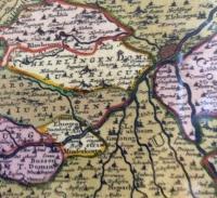 "Frederik de Wit: Sueviae Circulus et Ducatus "" Schwäbischer Kreis"""