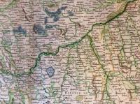 CERCLE DE SOUABE, / dans lequel sont distingués / les principaux Etats, et les Enclaves / DE LA MAISON D'AUTRICHE
