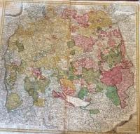 Homann: Circuli Sueviae Mappa ex subsidijs Michalianis