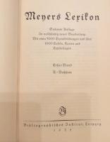 Meyers Lexikon, 7. Auflage, 15 Bände 1924-1933, top erhalten!