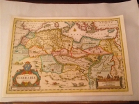 Janssonius Karte Nordafrika