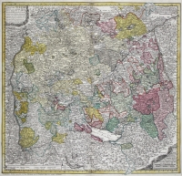 "Hase, Homann: Schwaben, ""Circuli Sveviae"" 1743"