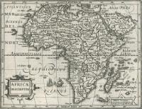 Mercator: 4 Kupferstichkarten aus Mercator minor 1610. Asia. Amerika. Europa. Afrika.