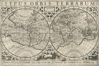 VERKAUFT! Mercator: Atlas Minor, Weltkarte 1610
