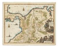 MONTANUS, ARNOLDUS: Kolumbien, Panama, Costa Rica... Terra Firma et Novum Regnum Granatense et Popayan