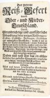 Riegel, C.: Der getreue Reiß-Gefert durch Ober- und Nieder-Teutschland